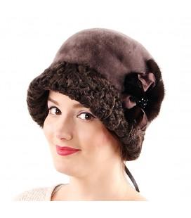 2001 Женская шапка из мутона