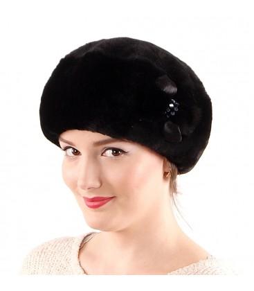 0696 Женская шапка из мутона