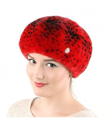 0697 Женская шапка из мутона