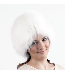 1405 Меховая шапка на вязаной основе.
