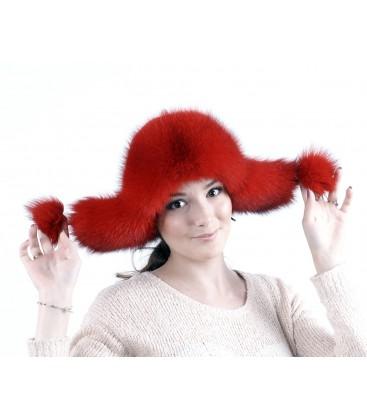 0763 Меховая шапка ушанка