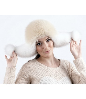 0767 Меховая шапка ушанка