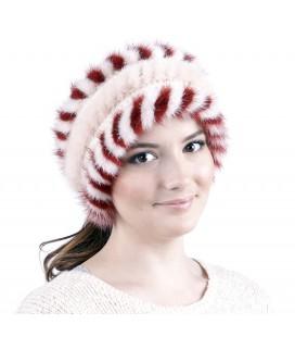 1618 Меховая повязка на голову.
