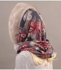 1703 Капор платок из норки цельный