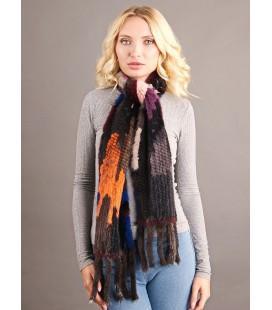 2139 Шарф из вязаной норки 20 см