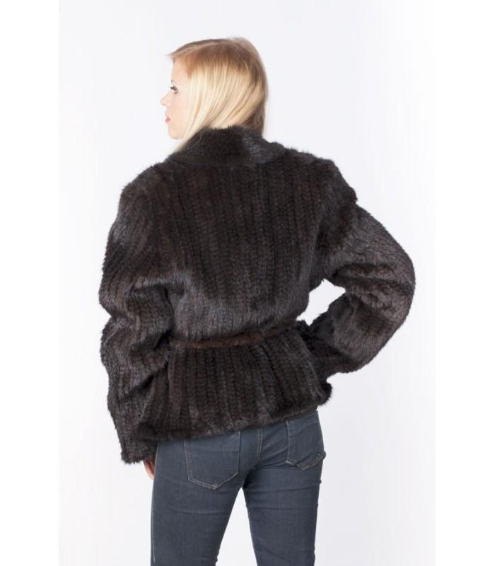 Купить Куртку Вязанную Из Норки