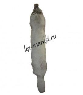 2405 Шкура песца бело-серая